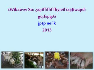 tWikaw;w Xu; ,yq;iff;fhf fhy;eil tsj;Jiwapd; gq;fspg;G jptp neFk 2013