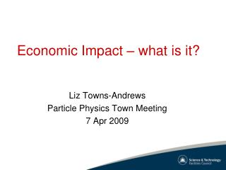 Economic Impact – what is it?