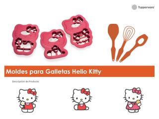 Moldes para Galletas Hello Kitty