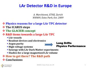 LAr  Detector R&D in Europe
