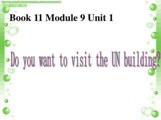 Book 11 Module 9 Unit 1