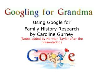 Using Google for