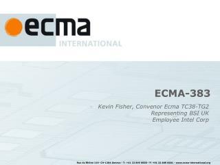 ECMA-383