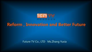 Reform , Innovation and Better Future