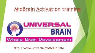 welcome to midbrain activation training