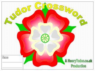Tudor Crossword