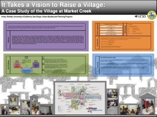 It Takes a Vision to Raise a Village:  A Case Study of the Village at Market Creek