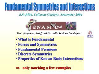 ENAM04, Callaway Gardens , September 2004