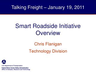 Smart Roadside Initiative Overview