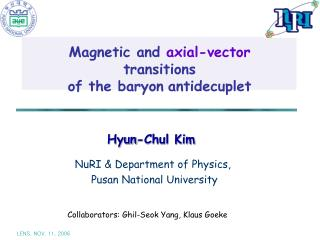 Magnetic and  axial-vector  transitions  of the baryon antidecuplet