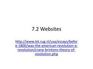 7.2 Websites