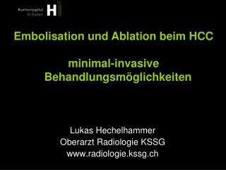 Lukas Hechelhammer Oberarzt Radiologie KSSG radiologie.kssg.ch