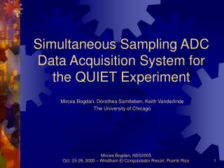 Simultaneous Sampling ADC Data Acquisition System for the QUIET Experiment