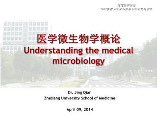 ???????? Understanding the  medical microbiology