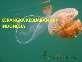 KERANGKA KEBIJAKAN KKP INDONESIA