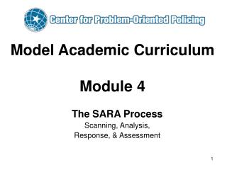 Model Academic Curriculum  Module 4