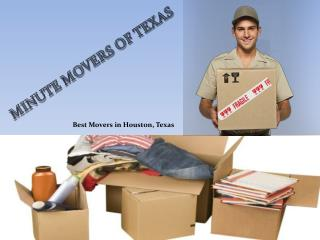 Best Movers in Houston, TX
