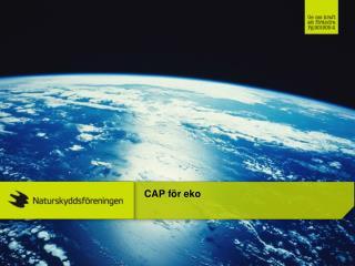 CAP för eko