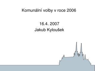 Komunální volby v roce 2006