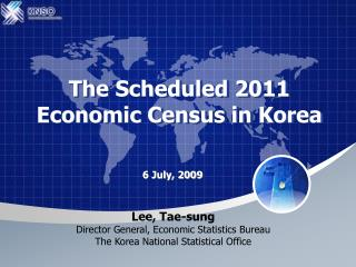 The Scheduled 2011  Economic Census in Korea