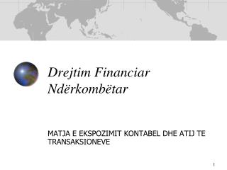 Drejtim Financiar Nd�rkomb�tar