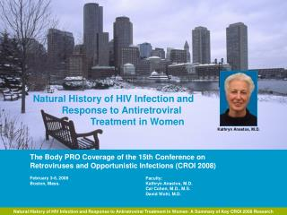 Natural History of HIV Infection and