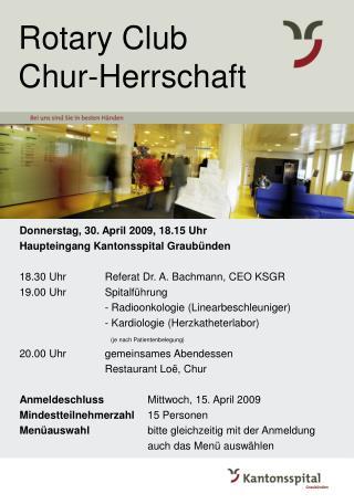 Rotary Club Chur-Herrschaft