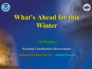 What's Ahead for this Winter