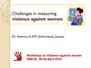 Challenges in measuring violence against women