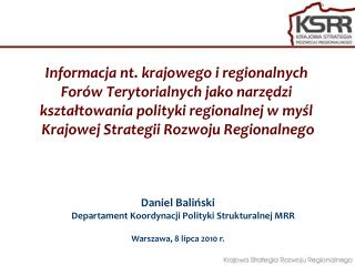 Problemy w realizacji polityki regionalnej w Polsce