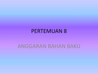 PERTEMUAN 8
