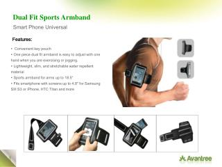 Dual Fit Sports Armband
