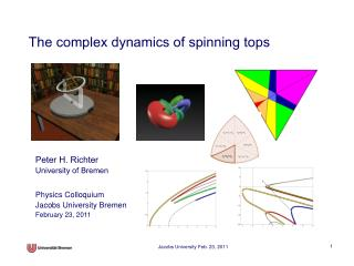 The complex dynamics of spinning tops