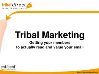 Tribal Email Marketing
