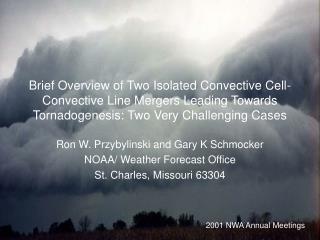 Ron W. Przybylinski and Gary K Schmocker NOAA/ Weather Forecast Office St. Charles, Missouri 63304