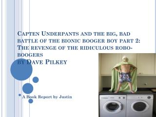 A Book Report by Justin