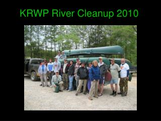 KRWP River Cleanup 2010