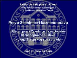 prof. dr. Zlata Đurđević