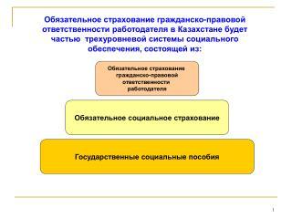 Государственные социальные пособия