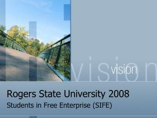 Rogers State University 2008