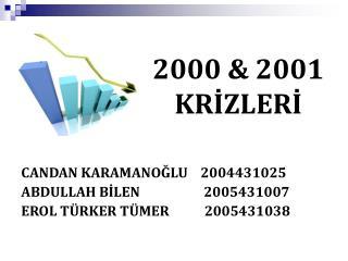 2000 & 2001 KRİZLERİ