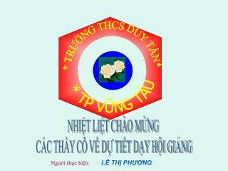 TRUNG THCS DUY T N