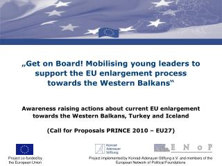 Project co-funded by  the European Union