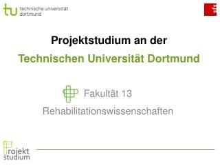 Projektstudium an der  Technischen Universität Dortmund