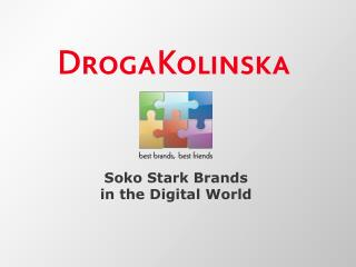 Soko Stark Brands  in the Digital World