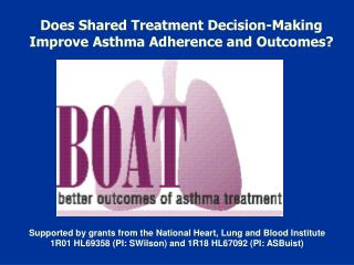 Does Shared Treatment Decision-Making Improve Asthma Adherence and Outcomes?