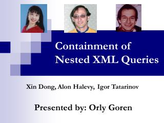 Containment of Nested XML Queries
