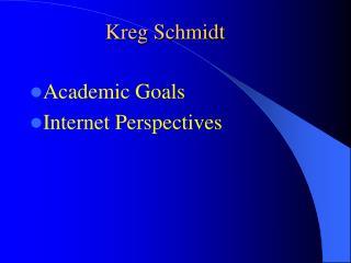 Kreg Schmidt