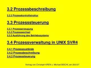 Vortrag von Christoph KREN u. Michael BISCHL am 28.9.07
