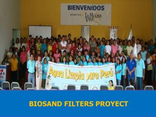 BIOSAND FILTERS PROYECT
